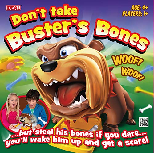 John Adams Don't Take Buster's Bones – Jeu de Societé Croc Dog Version Anglaise