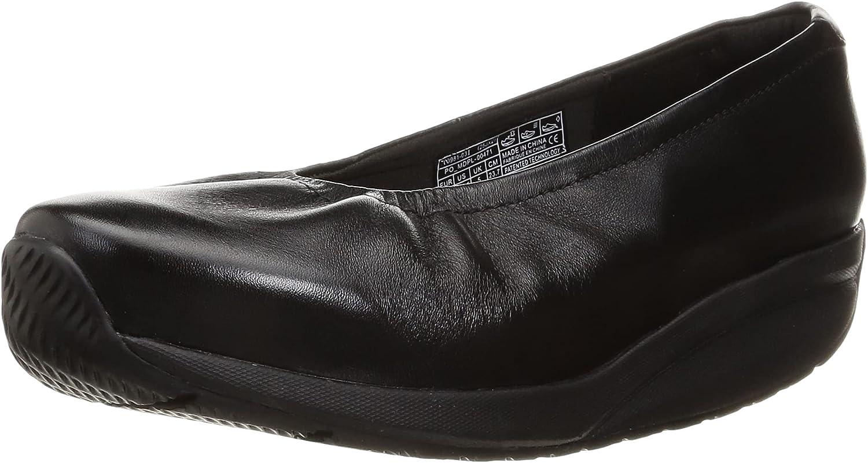 MBT Max 90% OFF OFFicial shop Women's Harper Leather Ballet Style Bottom Shoe Dress Rocker