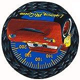 ToyOne Disney Cars Kinder Teppich Speed rund 133cm -