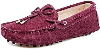 ac2168d6 Yiliankeji Zapatos Mujer Mocasines - Plano Punta Redonda Comodidad Casual  Ligero Conducción Caminar Náuticos