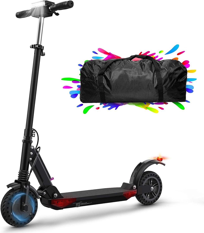 HUABANCHE Patinete Eléctrico 30Km Patinetes Electricas Scooter Electrico 350W, 8'' Neumático a Prueba de Explosiones Honeycomb, Patinete para Adultos y Adolescentes
