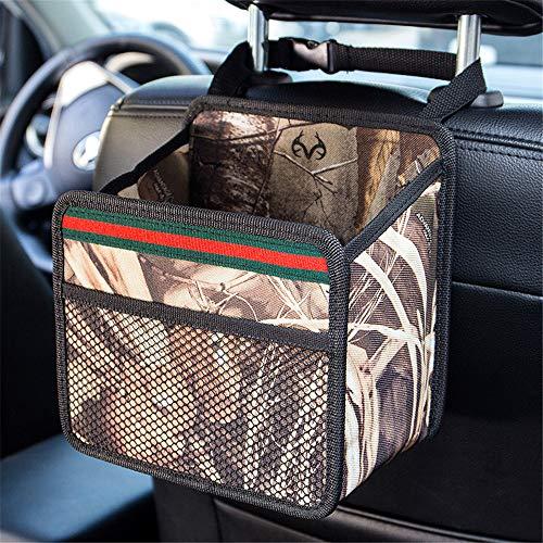 DYHQQ Bolsa De Basura para Automóvil Colgadores De Basura para Colgar Organizador De Asiento De Carro Impermeable para Latas De Basura A Prueba De Fugas para Camiones SUV,C