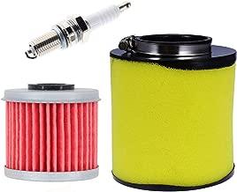 Air Filter Cleaner for Honda ATV TRX250 TRX250TE Recon TRX250EX TRX250X Recon 250 17254-HM8-000 includingOil Filter Spark Plug