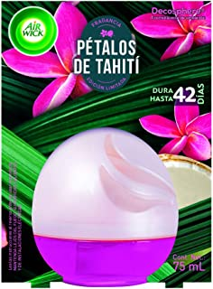 Air Wick Decosphere Aromatizante De Ambiente Pétalos Tahiti, color, 75 ml, pack of/paquete de