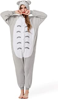 Halloween Totoro Onesie Costume Unisex-adult Animals Totoro Pajamas