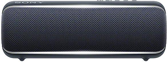 Sony Extra Bass Portable Bluetooth Speaker 12H - Black - SRSXB22/B (Renewed)