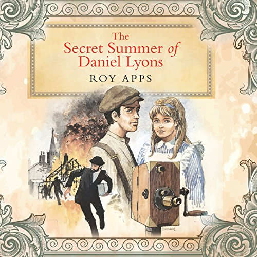The Secret Summer of Daniel Lyons audiobook cover art