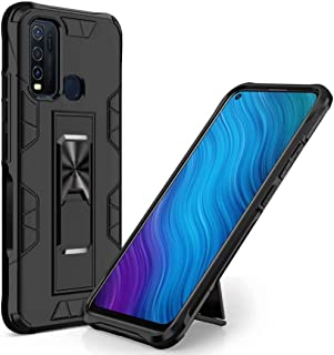 BAIDIYU Case for Oppo A31 Phone case, Shock absorption, bracket, drop resistance, TPU + PC double-layer design, suitable f...