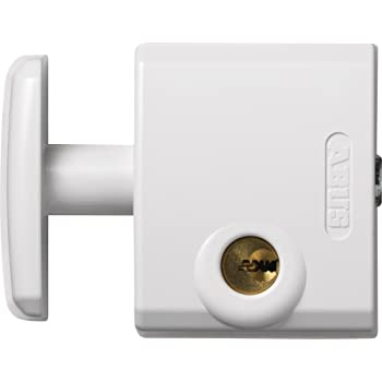 Abus FTS 3002 W C - Cerrojo de presión para ventana o puerta corredera blanco blister: Amazon.es: Bricolaje y herramientas