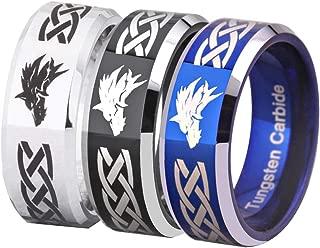 tungsten wolf ring