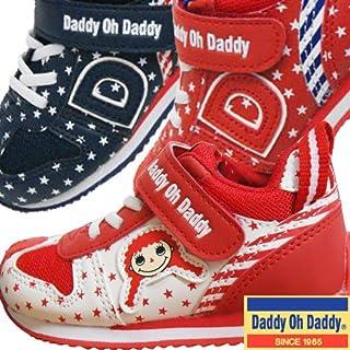 DaddyOhDaddy ダディオダディ 子供用運動靴 スニーカー-レッド13cm