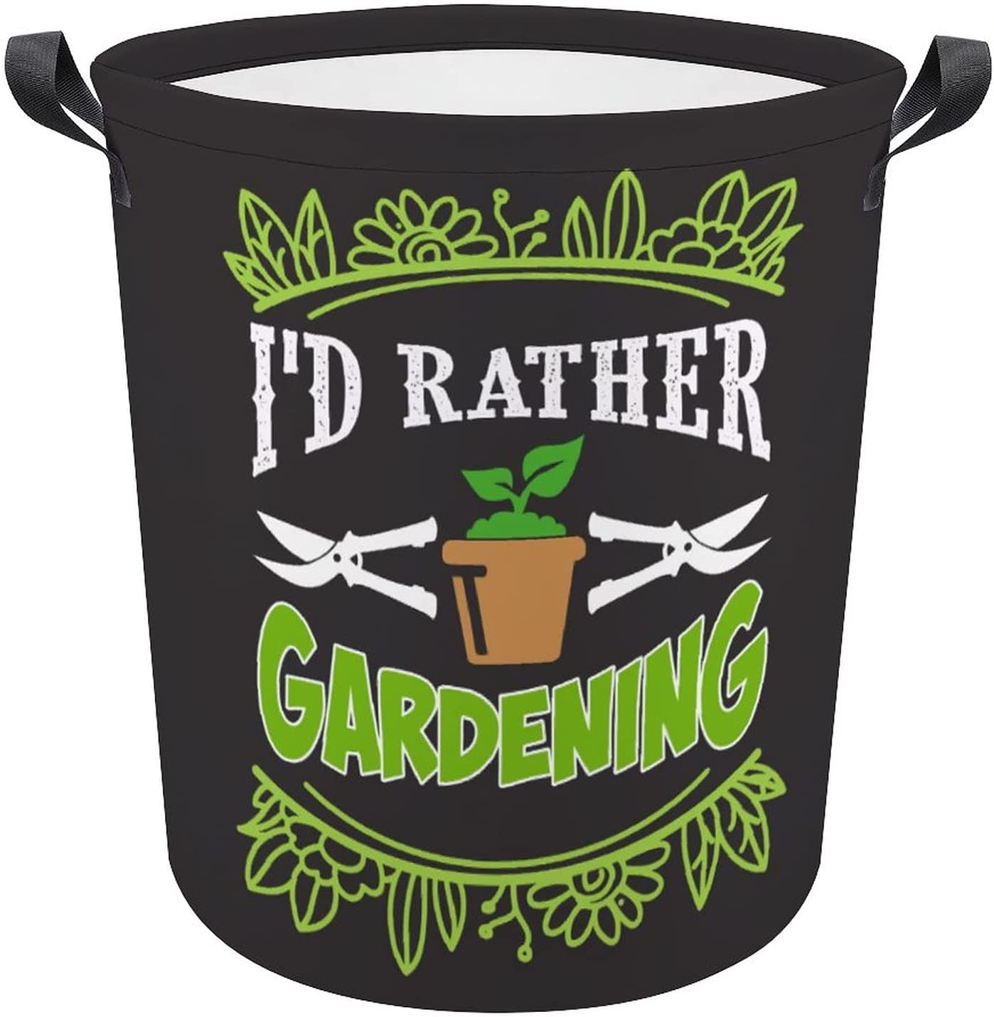 Funny Cartoon Gardening Lovers Superior Quote Oxford Sale Special Price Hamper Laundry Gift