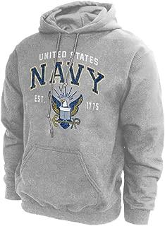 U.S. Navy Hoodie Sweatshirt Vintage Logo