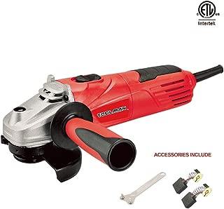 Lion Tools DB5027 Toolman Electric Angle Grinder Disc Side Grinder 4-1/2