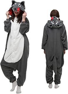 wolf onesie girls