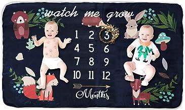 Manta de Forro Polar para bebé, tamaño Extragrande, para fotografía, Fondo Grueso, individuos y Gemelos para Gemelos Talla:Baby