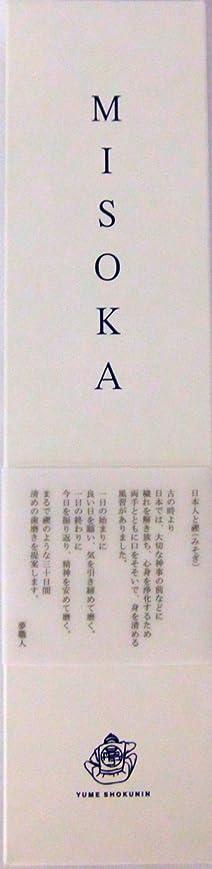 付録愛アレンジMISOKA(ミソカ) 大人用歯ブラシ