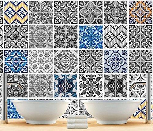 Patterns piastrelle Adesivi (set di 56)