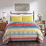 JML Luxury Flannel Fleece Blanket - Printed Warm Fuzzy Ultra Plush Lightweight Couch Bed Blanket All Season (King, Striped Classical)