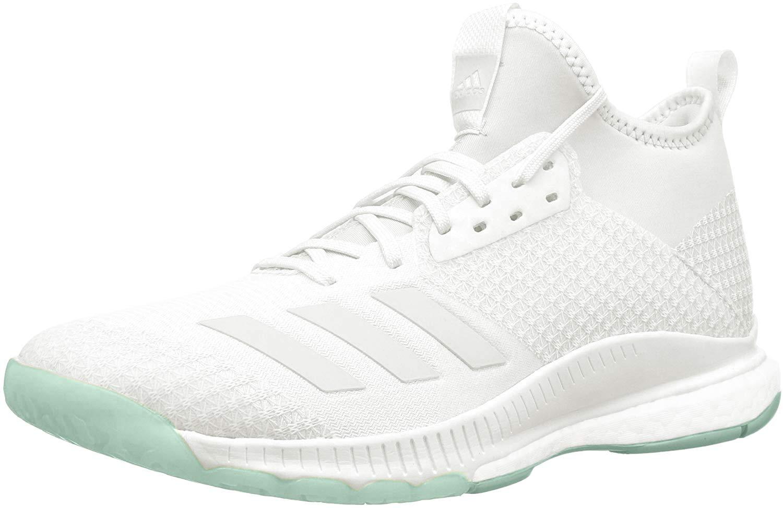 adidas Womens Crazyflight White Clear