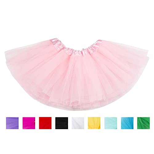1f47a514913b belababy Baby Girl Tutus for Toddlers 5 Layers Tulle Halloween Dress Up  Skirt
