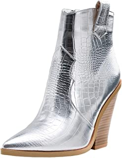 Melady Women Classic Western Booties