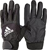 adidas Boys' T-Ball Batting Gloves 2018 (Black, SM)