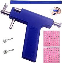 Body Piercing Gun Tool Kit Ear Piercing Gun Ear Nose Navel Piercing Kit with 98 pcs Ears Studs
