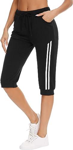 Doaraha Pantalon Short Jogging Femme Sport Sexy Court Coton Pantalon Sport Femme pour Gym Fitness Yoga S-XXL