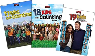 The Duggar Family Kids and Counting TLC DVD Collection: 17 Kids & Counting - Season 1 / 18 Kids & Counting - Season 2 / 19...