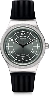 Mens Analogue Quartz Watch with Rubber Strap YIS419