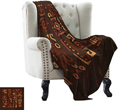 Amazon.com: African Decor,Soft Lightweight Blanket Abstract ...