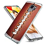 Samsung Galaxy S9 Case,CHICHIC Slim Flexible Soft TPU Silicone Protective Phone Case Cover with Cute Art Design for Samsung Galaxy S9,Funny Sports Design Brown Football