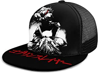Anime Goblin Slayer Unisex Adjustable Baseball Cap Hip Hop Cap Black