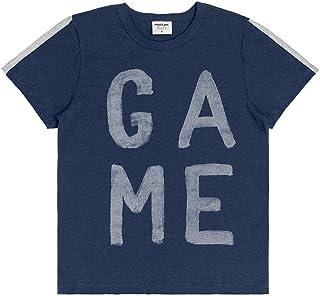 Camiseta Meia Malha Masculina Rovitex Kids