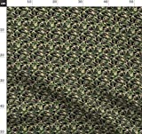 Schuppen, Digital, Tarnfarbe Stoffe - Individuell Bedruckt
