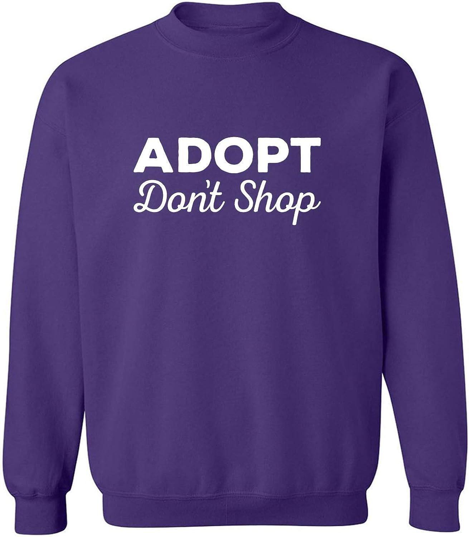 Adopt Don't Shop Crewneck Sweatshirt