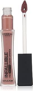 L'Oréal Paris Infallible Pro-Matte Liquid Lipstick, Milk And Cookies, 0.21 fl. oz.