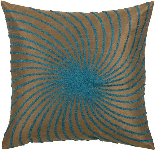 Blue And Brown Decorative Pillows  from ws.assoc-amazon.com