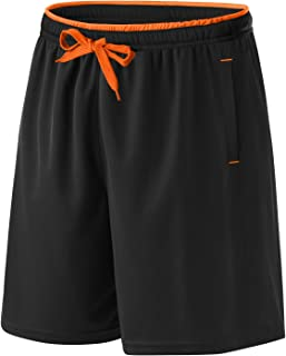 Cotrasen Mens Athletic Shorts Mesh Lightweight Dry Fitted Gym Running Shorts with Pockets