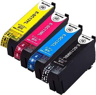 Morishop インクカートリッジ SC13 エプソン用 純互換インクカートリッジ 残量表示 最新ICチップ 商品1年保証付き morishop製 SC13-4CL (MBL/CL/ML/YL) 全色Lサイズ 4色セット