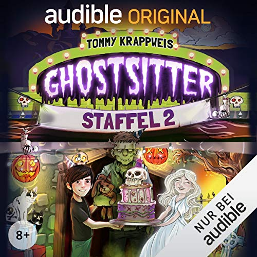 Ghostsitter: Die komplette 2. Staffel cover art