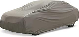 AmazonBasics Premium Waterproof Car Cover, for Cars up to 204 Inch, Large Sedan