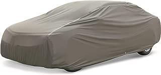 AmazonBasics Premium Waterproof Car Cover, for Cars up to 204 Inch, Large Sedan