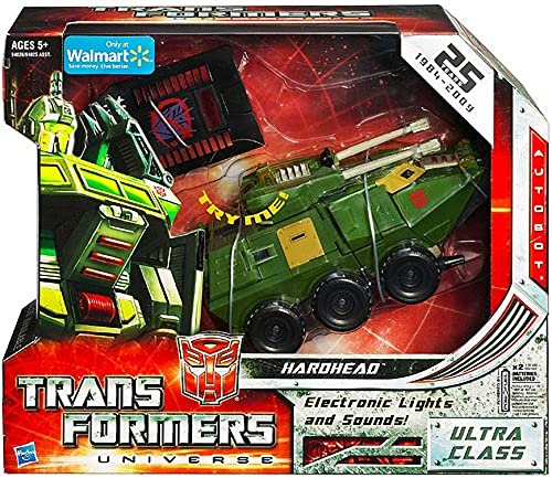 Hardhead Ultra Class 25th Anniversary Transformers Universe Classic Series Action Figure