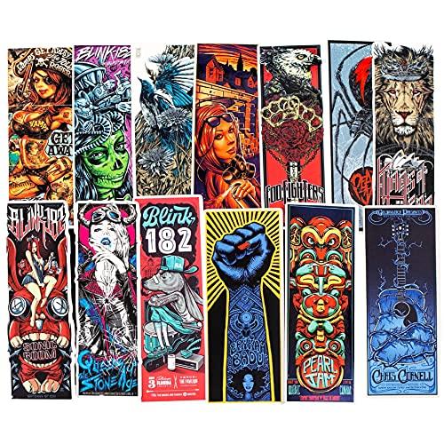 JZLMF 50 Adesivi Graffiti Serie Stile Punk Gotico Personaggi dei Cartoni Animati Adesivi per Trolley Tazza d'Acqua Animati Ragazzi E Ragazze