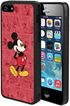 Case TPU+PC Fits for Apple iPhone 5S, SE, 5 5.5in Cartoon Classic Disney Icon Mickey Mouse Old Oldie Red Ringtones and Wallpapers