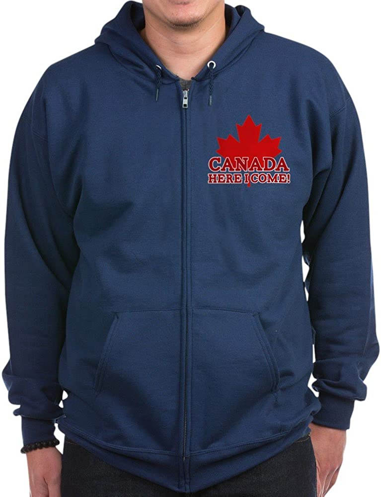 CafePress Canada Here Bombing free shipping I Dark Zip Hoodie Direct sale of manufacturer Come