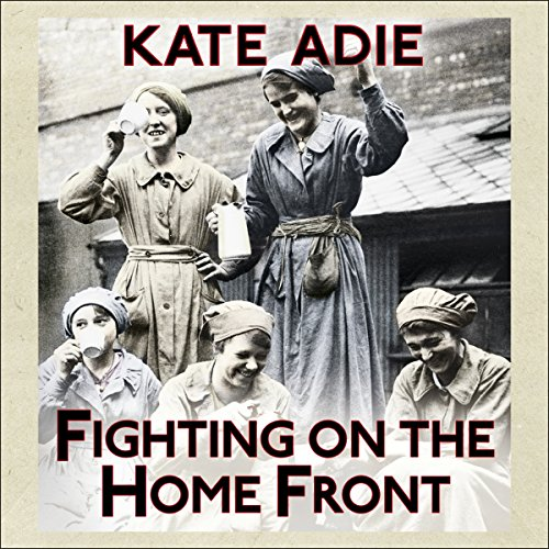 Fighting on the Home Front audiobook cover art