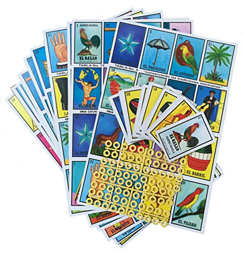 Naipes Gacela Family Board Game - Set of 20 Jumbo Boards and Deck of 54 Cards